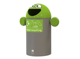 Novelty Recycling Bins