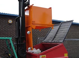 Fork Mounted Skips