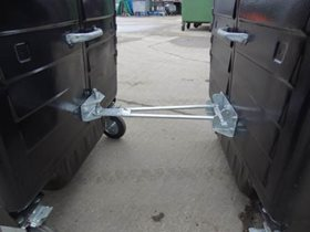 Universal 'A' Frame Bolt Through Wheeled Bin Tow Kits