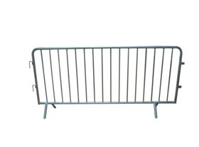 90 Pre-Galvanised Crowd Control Barriers (2.3m) Fixed