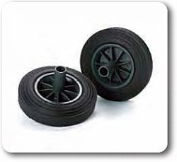 1 Pallet of 240 Litre Bin Wheels