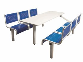 Spectrum 6 Seater Single Entry Canteen Furniture