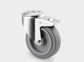 Series 3470 UFR Industrial Castors (Bolt Hole)