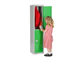 Two Door Locker for Schools