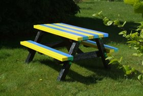 Junior Recycled Plastic Picnic Table