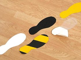 Anti- Slip Footprints
