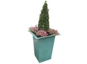 Ornamental Recycled Plastic Planter