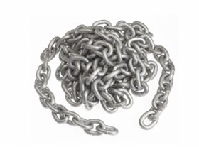 5m 6mm Grade 30 Short Link Galvanised Chain