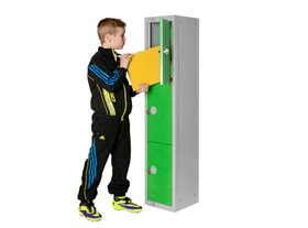 Three Door Locker for Schools