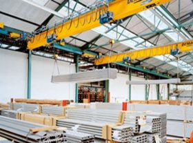 EPKE Profile Section Girder DEMAG Crane