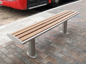 Zenith Stainless Steel Bench Seat