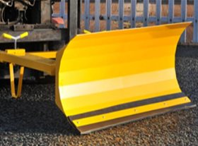 Fork Mounted Sprung Snow Plough (SSP) 1830mm