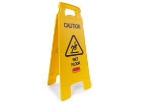 2 Sided Wet Floor Sign (Pack of 4)
