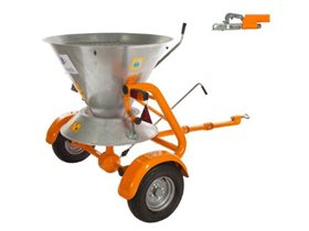 Gladiator Towable Grit Spreader - Ball Hitch