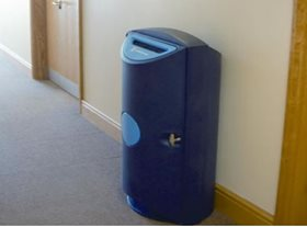 Clear-way Confidential Bin