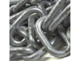 5m 8mm Grade 80 Galvanised Chain