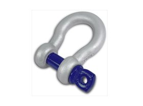 1 Ton Alloy Bow Shackle - Screw Pin