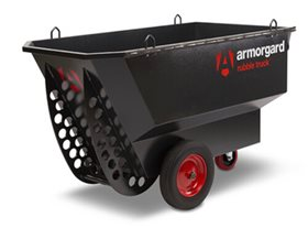 Armorguard Rubble Truck with Solid Wheels