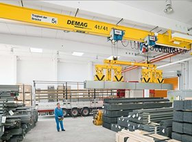 EKKE Single Box Girder DEMAG Crane