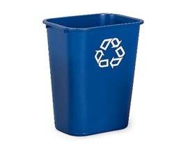 27 Ltr Deskside Recycling Bin