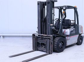 2005 Nissan LP Counterbalance Forklift