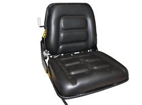 Forklift Seat, Semi-Suspension with Seat Belt