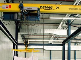 EKDE Suspension DEMAG Crane
