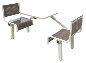 Spectrum 2 Seater Single Entry Canteen Furniture