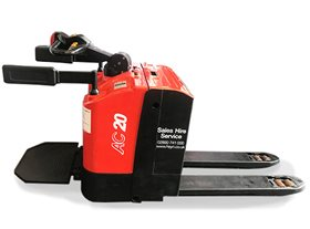 Heli 2.0t Electric Pallet Truck with Driver's Stand-on Platform