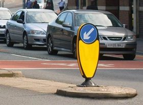 Night Owl Traffic Bollard