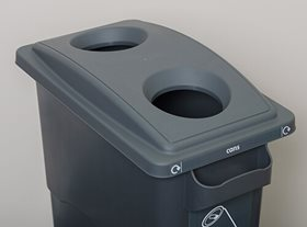 EcoSort Midi Tin Can Recycling Bin