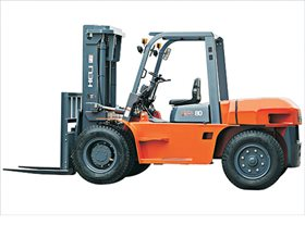 Heli 5t-10t Diesel/LPG Counterbalance Forklift Truck