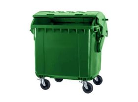 1100 Litre Wheeled Bin with Dome Lid