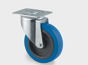 Series 3470 UFR Blue Industrial Castors