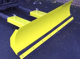 Fork Mounted Fixed Snow Plough (FMP) 1830mm