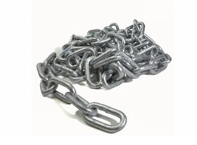 5 mtrs 8mm Grade 30 Long Link Galvanised Chain